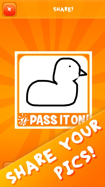Pass It On! - Telephone Guessing Game & Drawing screenshot-4