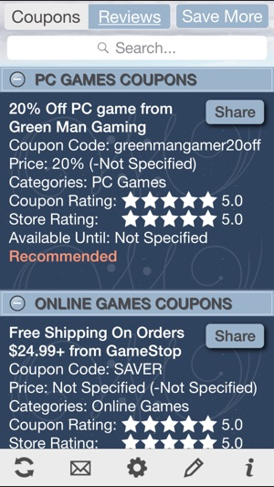 Game Coupons, Free Video Game Discount on the App Store