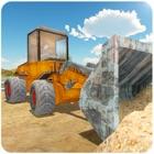 Bulldozer Unità 3D - in una grande costruzione Cit icon