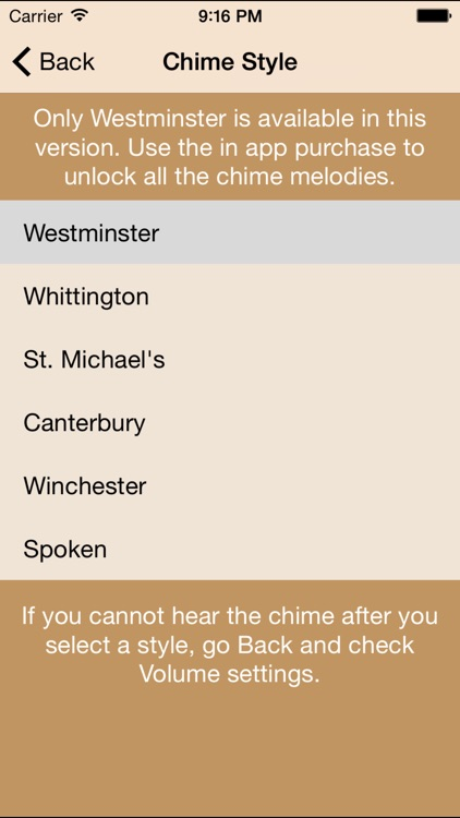 Westminster Chimes Standard screenshot-3