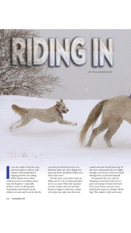 Young Rider magazine screenshot-4
