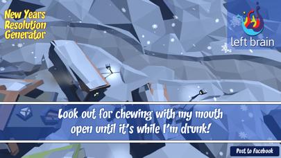 New Years Resolutions screenshot two