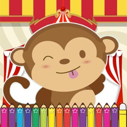 Monkeys Coloring Fun for kids the Second Edition