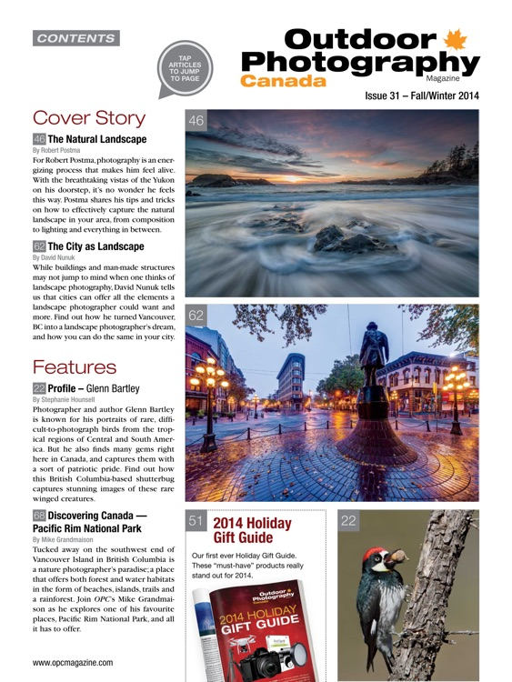 Outdoor Photography Canada Magazine