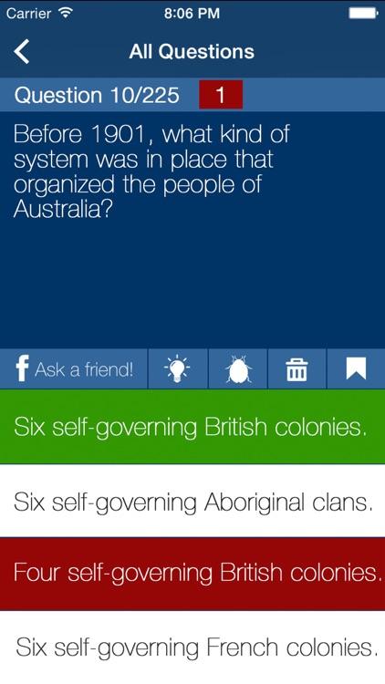 AU Citizenship Exam Prep 2018 screenshot-3