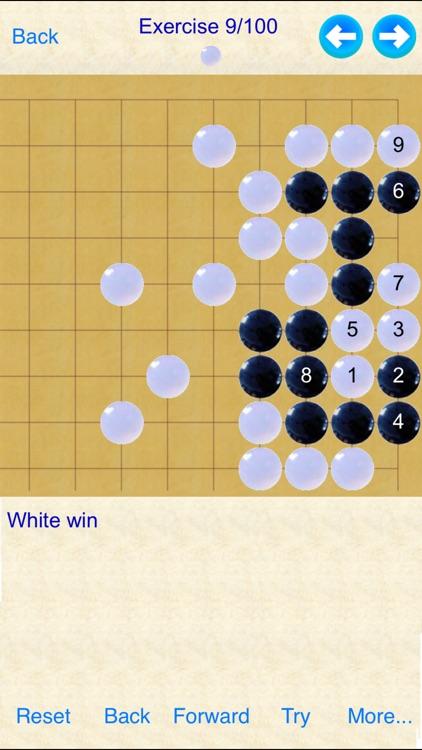 Tesuji - Go Game's Exercises screenshot-3