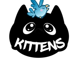 Liebevoll animierte, coole Katzen-Sticker