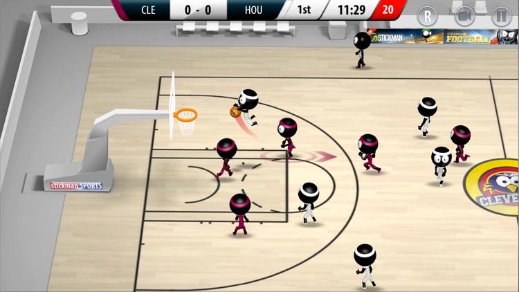 Stickman Basketball 2017 screenshot-0