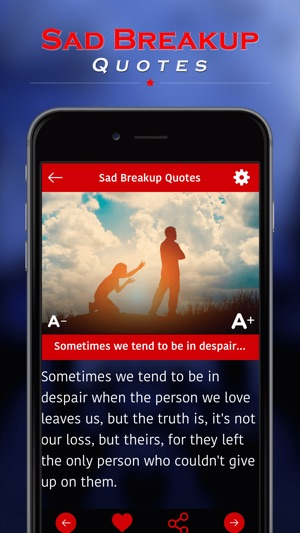 Sad Breakup Quotes On The App Store