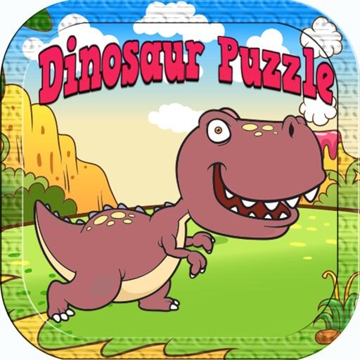 Dino Games Puzzles for Kids : Best Dinosaur Jigsaw iOS App