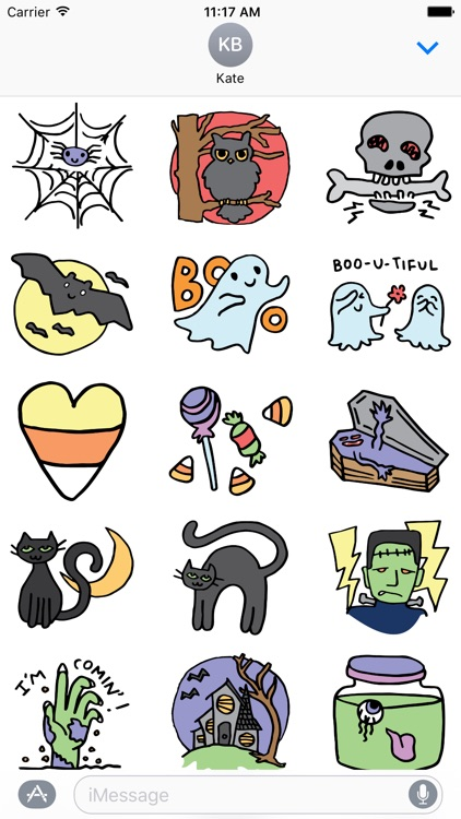 Halloween stickers for all screenshot-3