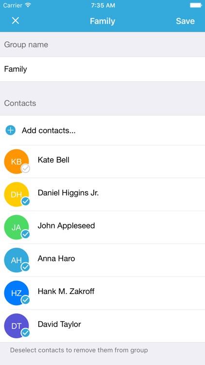 Group Text Free screenshot-4