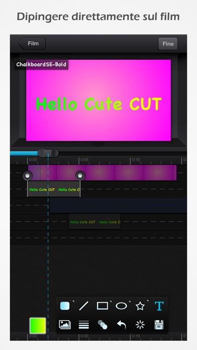 Screenshot for Cute CUT Pro in Italy App Store