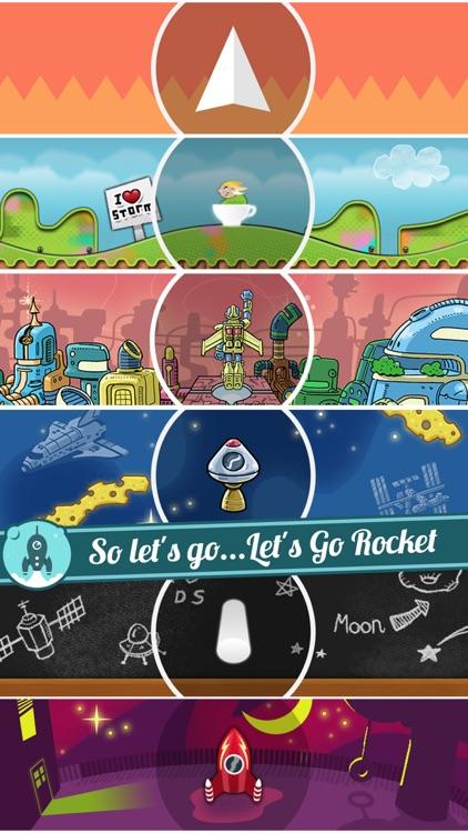 Let's Go Rocket - Ultimate Endless Space Adventure screenshot-4