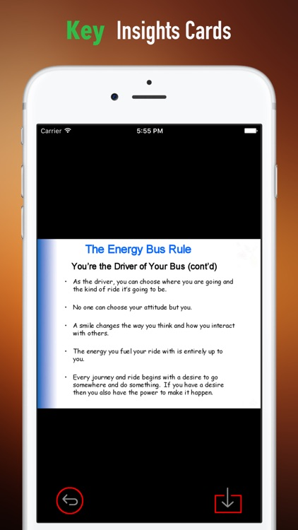 Quick Wisdom from The Energy Bus screenshot-3
