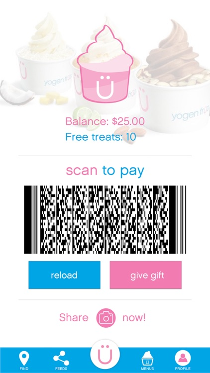 Yogen Früz Mobile screenshot-1