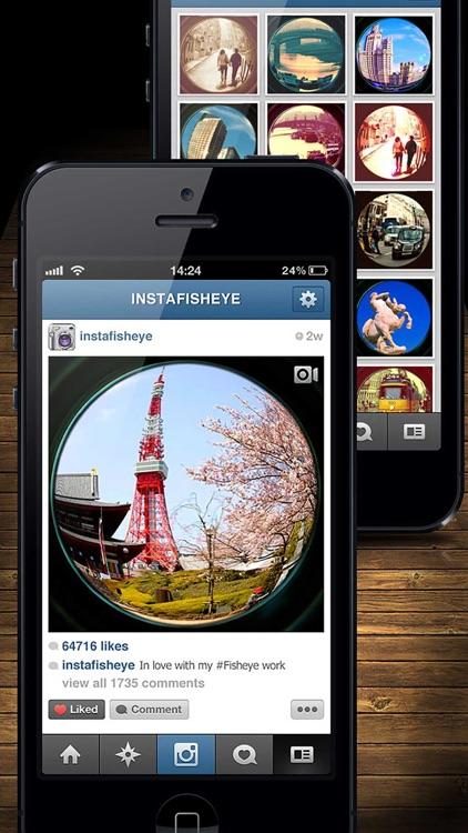 InFisheye - Fisheye Lens for Instagram screenshot-4