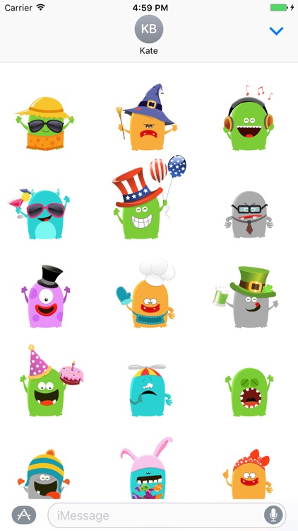 My Monster Stickers