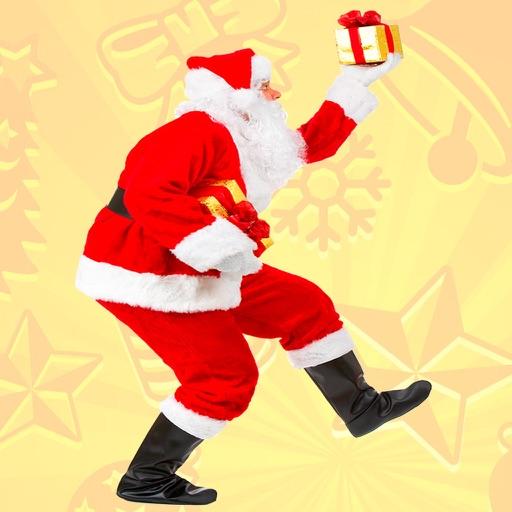 Selfie Santa Sticker