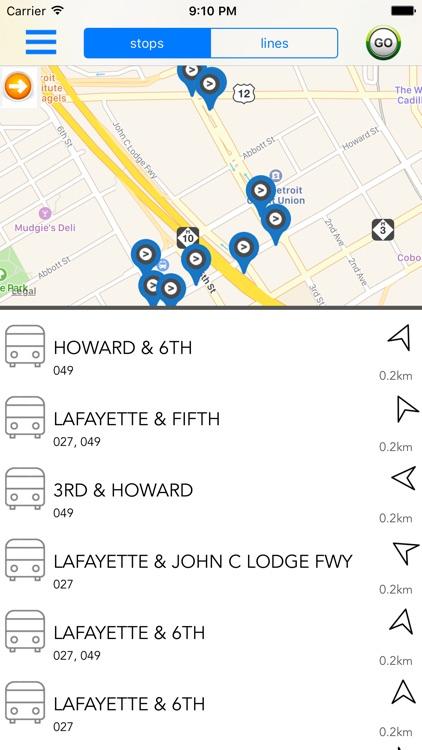 Detroit Public Transport