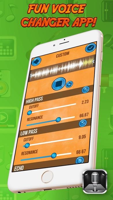 Voice Changer App Free screenshot four