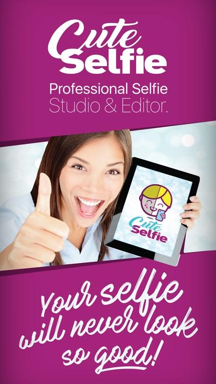 Cute Selfie Lite - Professional Selfie Editor Lab screenshot-0