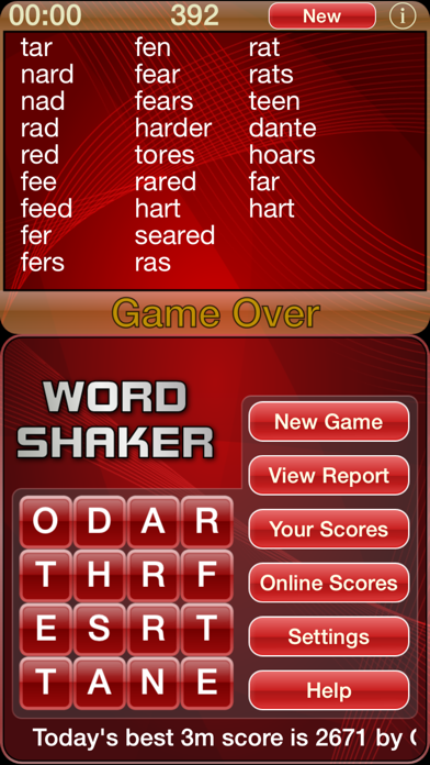Word Shaker screenshot1