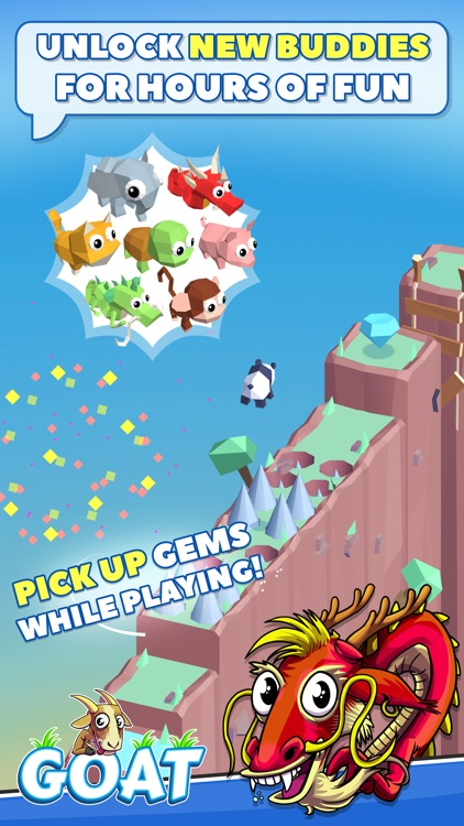 GOAT! Jumping Adventure Arcade Game screenshot-3