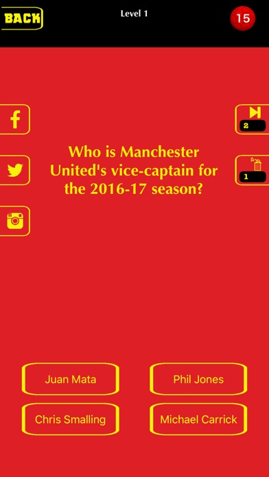 Football Trivia 2016 - for Man United-0