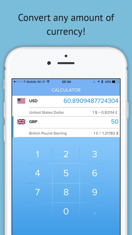 Currency Converter Swap -  Live Exchange Rates Pro screenshot-3
