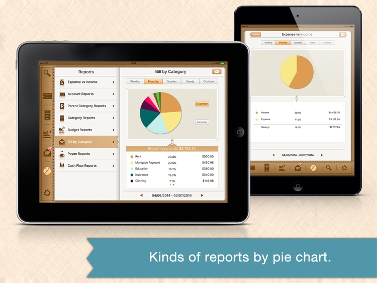Money Monitor Pro for iPad - Budget & Bill Manager screenshot-3