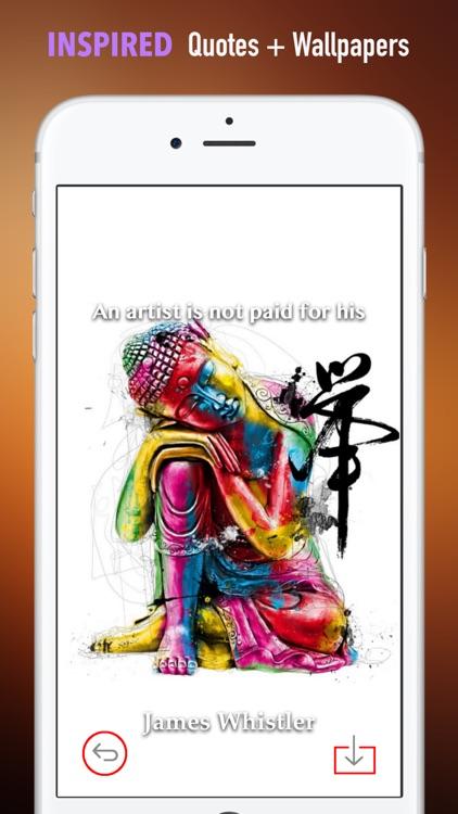 Buddhism Art Wallpapers HD: Quotes screenshot-4