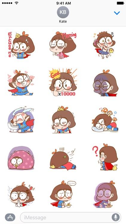 Miss Bu − NHH Stickers