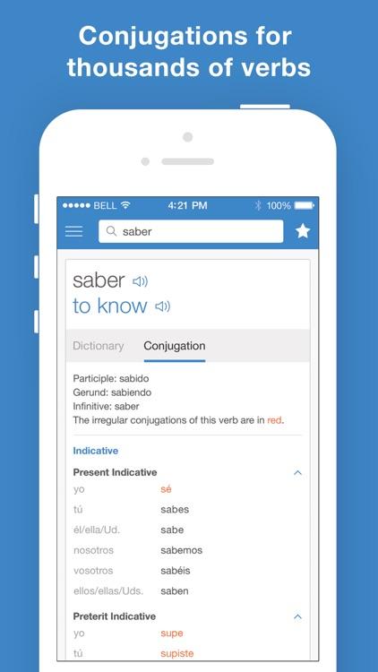 Spanish Translator and Dictionary - SpanishDict screenshot-3