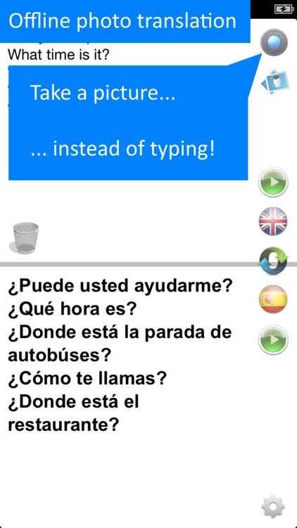 Spanish Offline Translator App screenshot-3