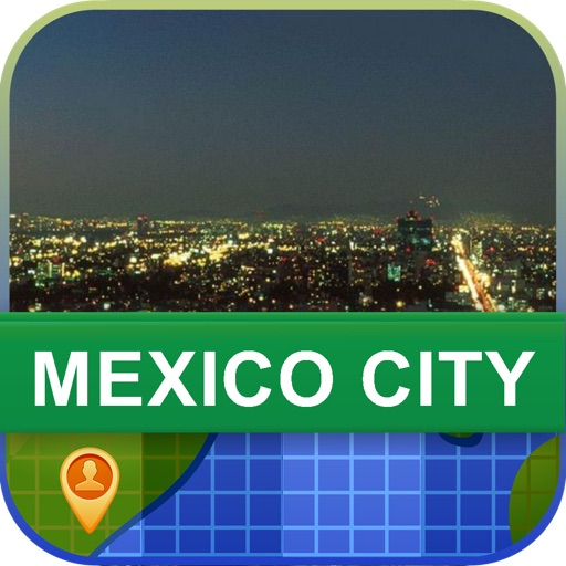 Mexico City, Mexico Map - World Offline Maps