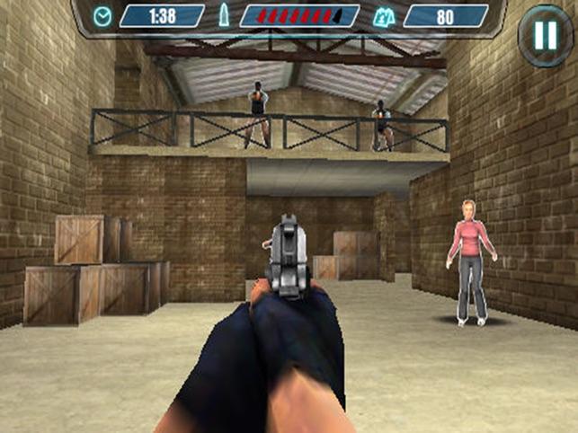 schießstand 3d - polizei schießt frei spielen. Screenshot