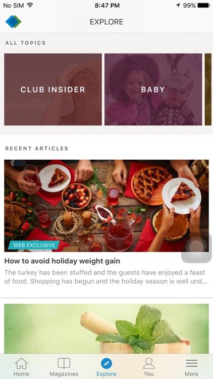 Sam's Club Healthy Living Made Simple screenshot-3