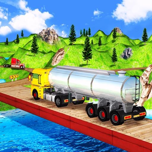 Cargo Oil 3D Truck Drive