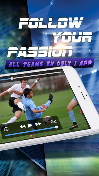 Live Football, Free Highlights and Soccer Clips screenshot-4