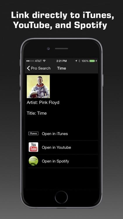 Premium Music Search app image