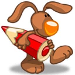 Cute Cartoon Rabbit Sticker Pack