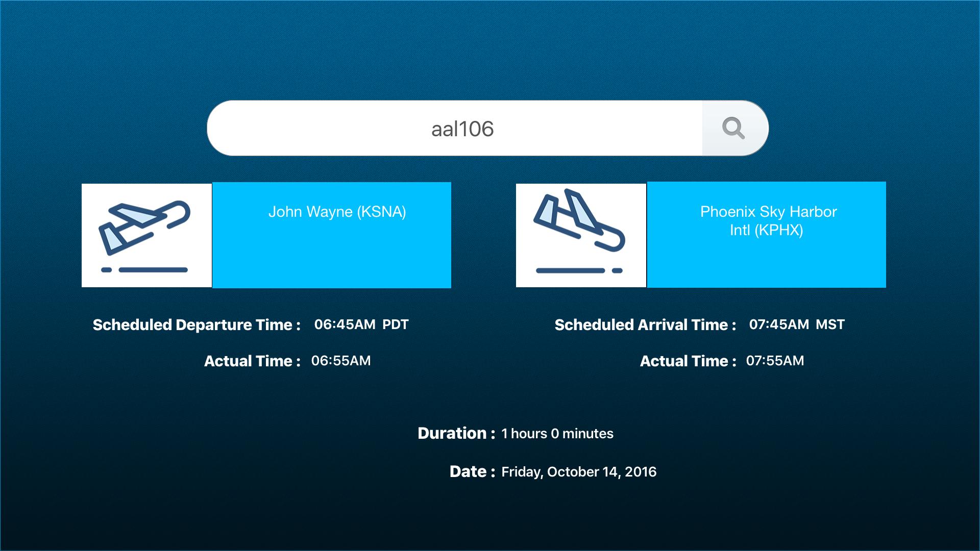 Flight Status – Flight Information screenshot 3