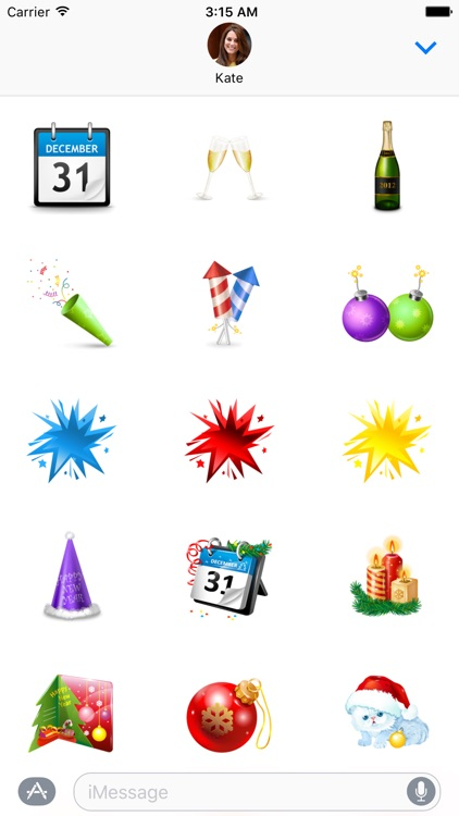 Happy New Year Sticker Pack