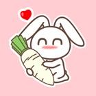Rabbit Animated Emoji Stickers icon