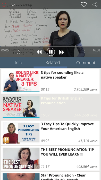 English Pronunciation - learning, practice daily | App Price Drops