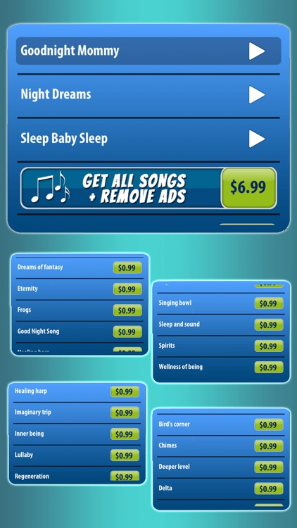 Lullaby Music for Babies – Baby Sleep Song.s App screenshot-4
