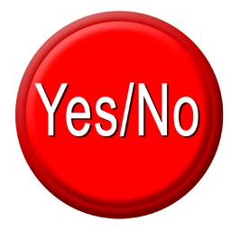 Yes / No Button Free