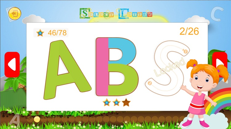 Kids Learning Shapes & Colors - Alphabet Tracing screenshot-4
