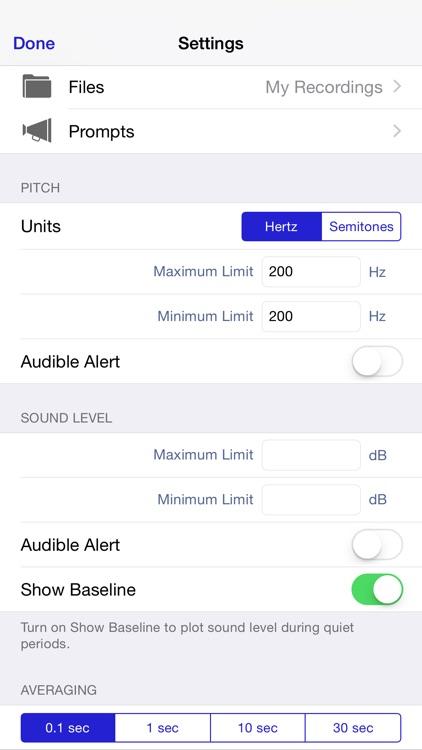 Sonneta Voice Monitor screenshot-3